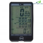 SD - 576A Auto Light Mode Touch Wired Bicycle Computer Speedometer with Line Control