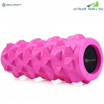 MILY SPORT PU Skin EVA Yoga Fitness Foam Roller Physio Block Exercise Massage Gym Cure Equipment