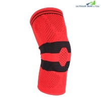 Silicone Anti-collision Support Knee Pads (RED)