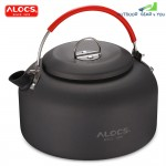ALOCS CW - K03 1.4L Aluminum Outdoor Kettle for Camping Hot Water Tea