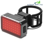 USB Charging Intelligent Induction Brake Bicycle Riding Taillights