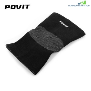 Povit Kneecap Knee Sleeve Outdoor Sports Basketball Running Climbing (BLACK)