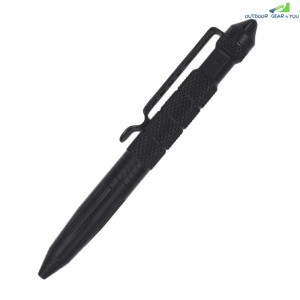Multifunctional Tungsten Steel Head Tactical Defense Pen Outdoor Survival Pen