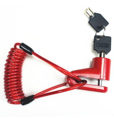 Anti-Theft Disc Brakes Lock with Steel Wire for Xiaomi M365 Electric Scooter
