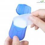 20-PACK Portable Hand Wash Bath Soap Tablets Toilet Paper Travel Goods