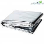 Outdoor Emergency Blanket Life-saving Insulation Sleeping 13X21cm