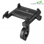 360-DEGREE Rotating Bike Mobile Phone Stand (Black)