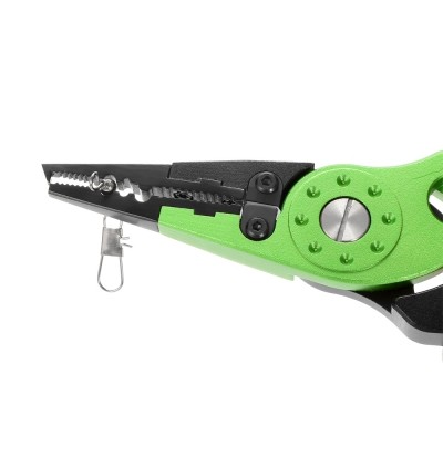 Outlife FG - 1026 Fishing Plier Hook Remover Braid Line Cutting / Split Ring  (GREEN APPLE)
