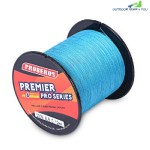 PROBEROS 300M Durable PE 4 Strands Braided Fishing Line Angling Accessories (BLUE)