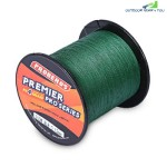 PROBEROS 300M Durable PE 4 Strands Braided Fishing Line Angling Accessories (GREEN)