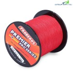 PROBEROS 300M Durable PE 4 Strands Braided Fishing Line Angling Accessories (RED)