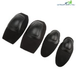 4PCS Tactical Protective Gear Knee Pads Elbow Supporter (BLACK)