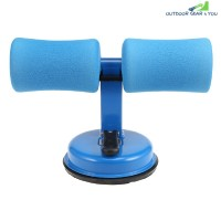 Domestic Adjustable Sit-up Assistor Fitness Equipment (ROYAL BLUE)
