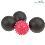 Portable Massage Ball Set Fitness Equipment (MULTI)