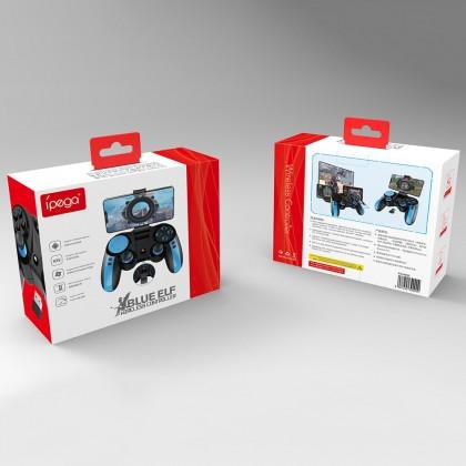 iPEGA PG-9090 Gamepad Replaceable Cross Key Elastic Phone Holder Flexible Joystick Bluetooth 4.0 with 2.4GHz Receiver