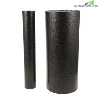 2-in-1 Foam Roller Yoga Fitness Equipment (JET BLACK)