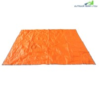 220 x 180CM Outdoor Water Resistant Oxford Cloth Mat (DARK ORANGE)