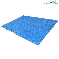 220 x 300CM Picnic Outdoor Water Resistant Oxford Cloth Mat (OCEAN BLUE)