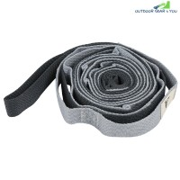 2.5m Auxiliary Yoga Strap Flexible Stretch Belt (GRAY)