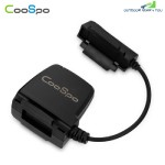 CooSpo Bluetooth / ANT+ Cycling Speed Cadence Sensor Wireless Bike Computer (BLACK)