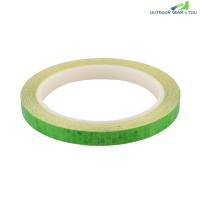 Bicycle Reflective Stickers Security Wheel Rim Decal Tape (GREEN)