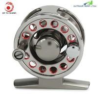 LIE YU WANG 2 + 1BB Aluminum Alloy Fly Fish Reel Wheel (LIGHT GRAY)