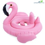 Inflatable Seat Cute Bird Babies Swimming Ring (PINK)