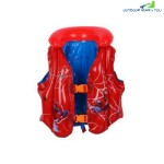 INFLATABLE FLOATING VEST  SPIDERMAN  (3-6 YEARS)