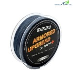 HONOREAL 0.232MM 150M SUPER STRONG ABRASION RESISTANT LONG GREY AND GREEN COLOR 4 STRANDS FISHING LINE  PE BRAIDED (DEEP GRAY)
