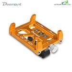 Deemount Universal Aluminum Alloy Motorcycle / Bicycle Phone Mount Holder (GOLD)