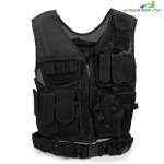 Multifunctional Outdoor Activity Equipment Breathable Tactical Vest (BLACK)