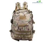 CHENGMA Battlefield Survival Game Tactical Backpack Sport Rucksack (NAVY CAMOUFLAGE)