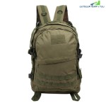 CHENGMA Battlefield Survival Game Tactical Backpack Sport Rucksack (ARMY GREEN)