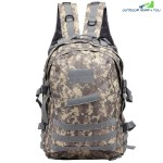 CHENGMA Battlefield Survival Game Tactical Backpack Sport Rucksack (ACU CAMOUFLAGE)