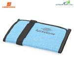 Luckstone Folding Rock Climbing Equipment Quickdraw Collection Arrange Bag (BLUE)