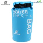 LUCKSTONE Drifting Water Resistant Ultralight 2L / 5L Dry Bag (DEEP SKY BLUE)