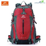 Maleroads 50L Water Resistant Outdoor Sports Backpack (RED WINE)