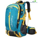 FREE KNIGHT FK0215 30L NYLON WATER RESISTANT BACKPACK (BLUE)