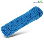 8MM HIGH STRENGTH WOVEN ROPE FOR OUTDOOR CLIMBING (SKY BLUE)