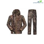 OUTDOOR TACTICAL WATERPROOF WARM SOFT SHELL SUIT FOR MEN (CAMOUFLAGE)