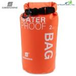 LUCKSTONE Drifting Water Resistant Ultralight 2L / 5L Dry Bag (ORANGE)