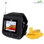FF518 Wireless Sonar Fish Finder Echo Fishing Sounder (BLACK)