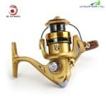 LIEYUWANG 12 Ball Bearings Metal Reel Fishing Tackle (TYRANT GOLD)