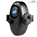 YOLO Outdoor Fish Bite Alarm Finder with LED Indicator On Fishing Rod (BLACK)