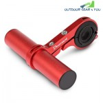 Deemount HLD - 207 Bicycle Extension Holder Aluminum Alloy for Mountain Bike (RED)