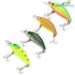 7.5CM Artificial Fishing Lure Trolling Crankbait 8.3g