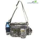 Multifunction Lure Waist Pack Fishing Tackle Messenger Bag