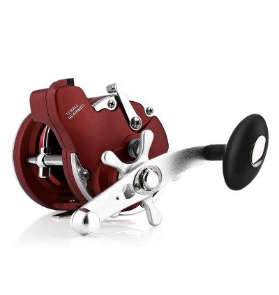 YUMOSHI 12BB Fishing Reel with Electric Counting Multiplier