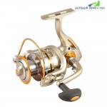 G-ratio 5.1 : 1 Fishing Reel Metal Spool 11 + 1BB Spinning Wheel