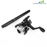 Aluminum Portable Pen Shape Fish Rod Fishing Reel